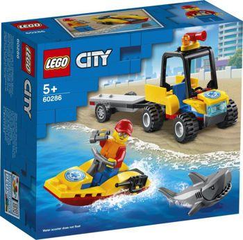 Picture of Lego City Beach Rescue ATV 60286