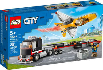 Picture of Lego City Airshow Jet Transporter (60289)