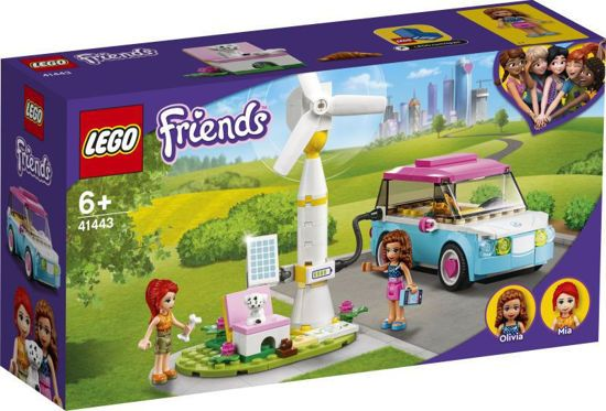 Picture of Lego Friends Olivia's Electric Car 41443