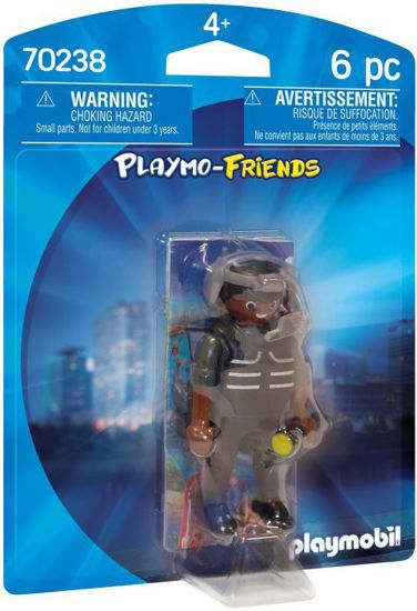 Picture of Playmobil Friends Αρχηγός Ομάδας Ειδικών Αποστολών (70238)