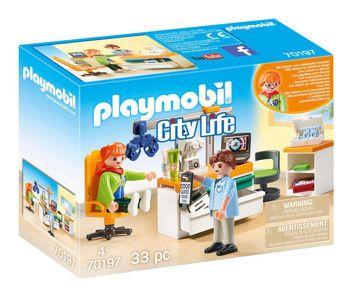 Picture of Playmobil City Life Ιατρικό Κέντρο Οφθαλμιατρείο (70197)