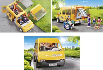 Picture of Playmobil Σχολικό Λεωφορείο 9419