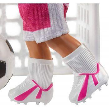 Picture of Mattel Barbie Soccer Coach Playset Σετ Αθλήματα Επαγγέλματα Καστανή Κούκλα Προπονήτρια GLM53 / GJM71