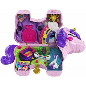 Picture of Mattel Polly Pocket Unicorn Party Μονόκερος Πινιάτα Έκπληξη Σετ GVL88