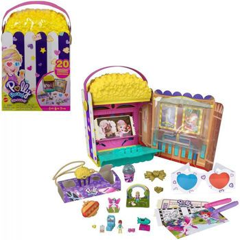 Picture of Mattel Polly Pocket Σινεμά Ποπ Κορν Σετ GVC96
