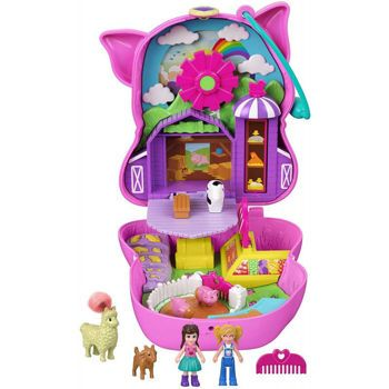Picture of Mattel Polly Pocket On The Farm Piggy Compact FRY35/GTN16