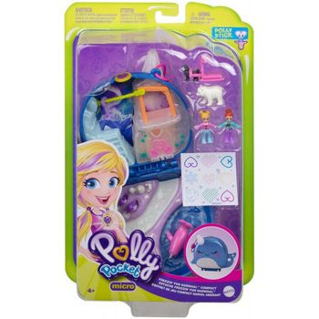 Picture of Mattel Polly Pocket Freezin Fun Narwhal Compact FRY35/GKJ52