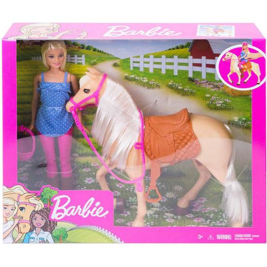 Picture of Mattel Barbie Και Άλογο FXH13