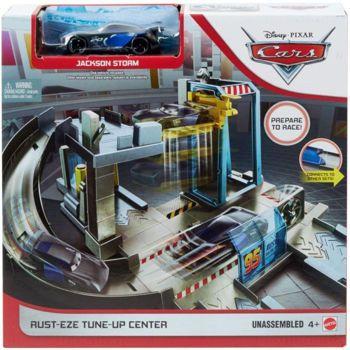 Picture of Mattel Disney Pixar Cars Rust-Eze Tune-Up Center Αγωνιστικό Συνεργείο GJW43