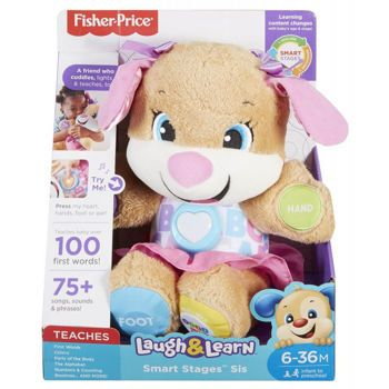 Picture of Fisher-Price Smart Stages Σκυλάκι Ροζ FPP82