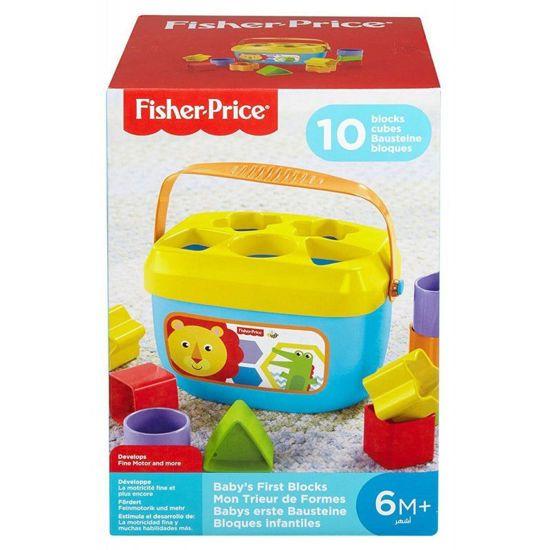 Picture of Fisher-Price Νέος Κύβος Με Σχήματα FFC84