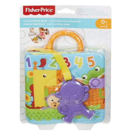 Picture of Fisher-Price Fisher Price Μαλακό Βιβλιαράκι Δραστηριοτήτων FGJ40