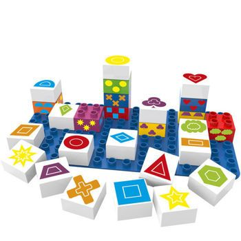 Picture of Biobuddi Symbols Playset - Εκπαιδευτικά Τουβλάκια με Σχήματα και Σύμβολα