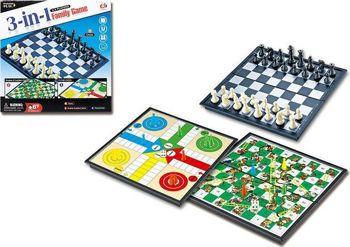 Picture of Μαγνητικό Σκάκι - Γκρινιάρης -Φιδάκι 3 in 1 (30 x 30εκ)