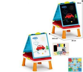 Picture of Zita Toys Πίνακας 4 Σε 1 ( Πίνακας Κιμωλίας & Μαρκαδόρου, Θρανίο & Επιτραπέζια)
