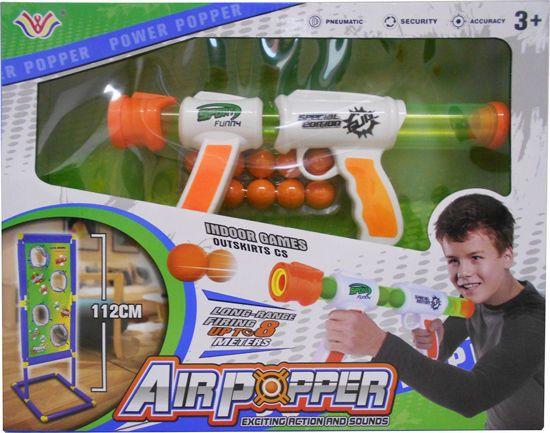 Picture of Zita Toys Όπλο Με Μαλακές Μπάλες & Επιδαπέδιο Στόχο