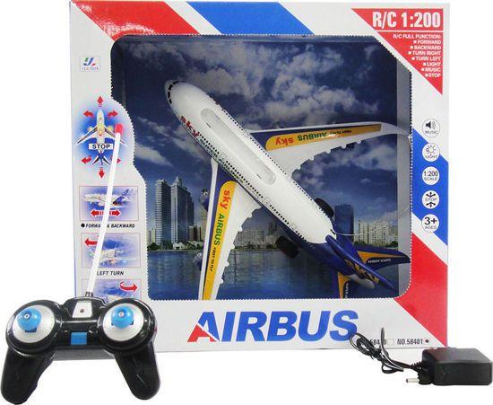 Picture of Zita Toys Airbus Τηλεκατευθυνόμενο Επαναφορτιζόμενο 1:200 (Ήχο & Φως)