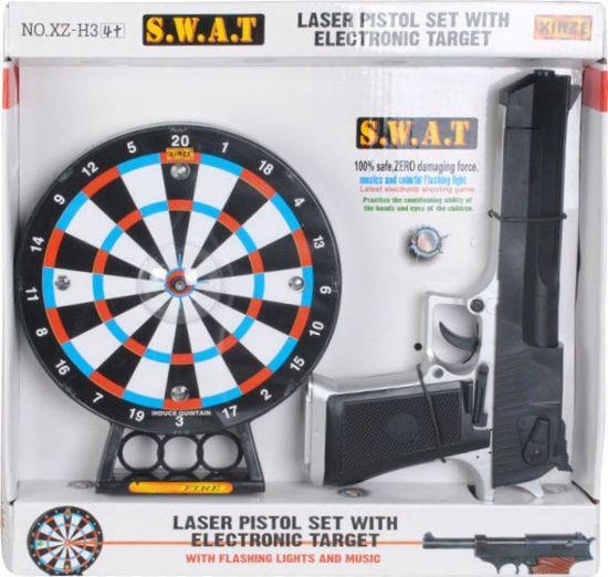 Picture of Zita Toys Όπλο Laser Με Στόχο Ήχους Και Φώς