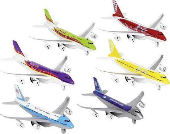 Picture of Goki - Αεροπλάνο Μεταλλικό Με Αυτοκούρδιστη Κίνηση