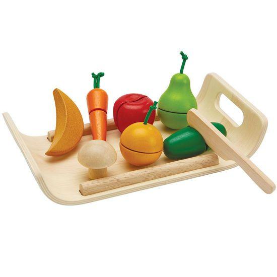 Picture of Plan Toys Φρούτα Και Λαχανικά 3416