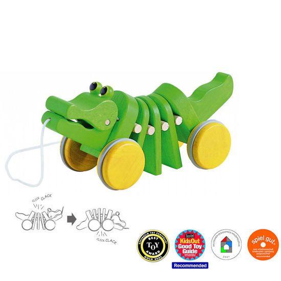Picture of Plan Toys Κροκόδειλος Που Κινείται 5105