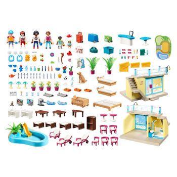 Picture of Playmobil Family Fun Playmo Παραθαλάσσιο Ξενοδοχείο 70434