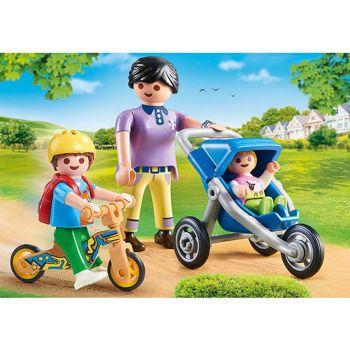 Picture of Playmobil City Life Μαμά Kαι Παιδάκια 70284