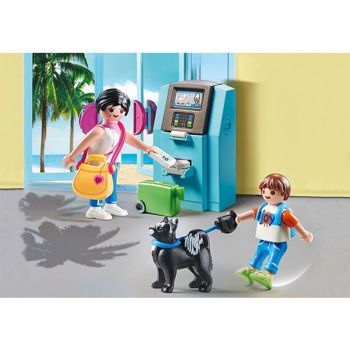 Picture of Playmobil Family Fun Τουρίστες στο ATM 70439