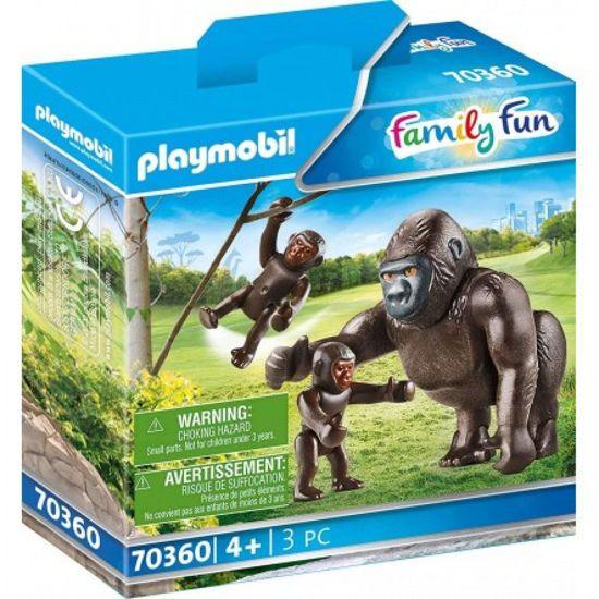 Picture of Playmobil Family Fun Οικογένεια Aπό Γορίλλες 70360
