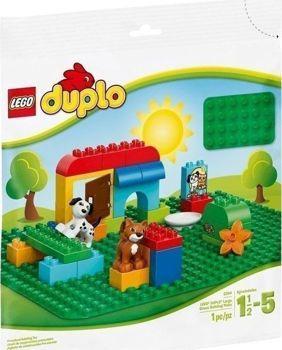 Picture of Lego Duplo Μεγάλη Πράσινη Βάση Κατασκευών 2304