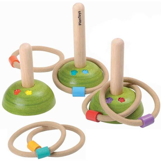 Picture of Plan Toys Δακτύλιοι 5652
