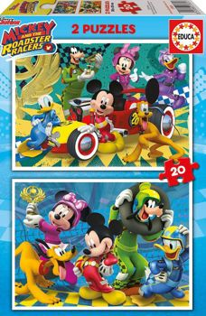 Picture of Educa Παζλ Mickey Mouse 2 x 20 τμχ (17631)