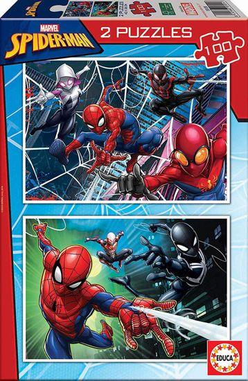 Picture of Educa Παζλ Spiderman 2 x 100 τμχ (18101)
