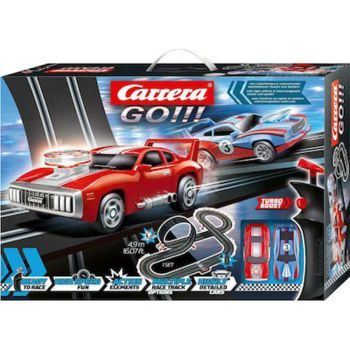 Picture of Carrera Αυτοκινητόδρομος Go Smoking Tires Slot Racing System 1:43 (20062497)