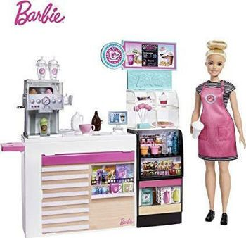 Picture of Mattel Barbie Καφετέρια Με Κούκλα GMW03