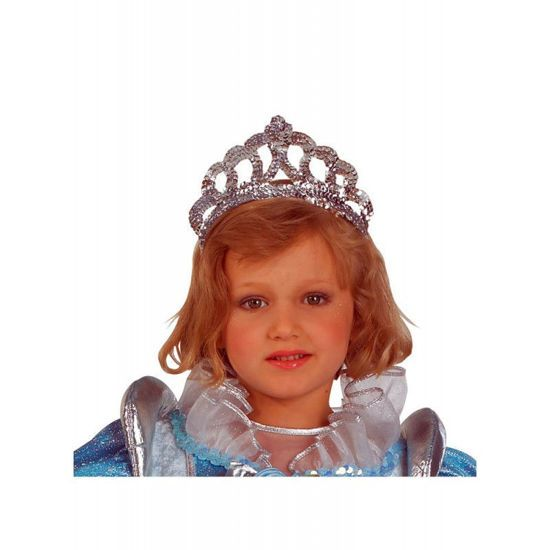 Picture of Clown Glitter Princess Στέμμα Ασημί 80066