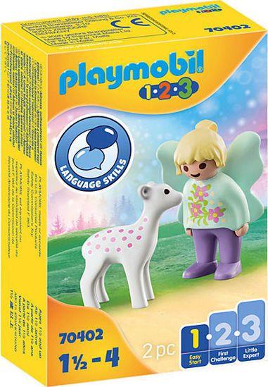 Picture of Playmobil 1.2.3 Νεράιδα Με Ελαφάκι 70402