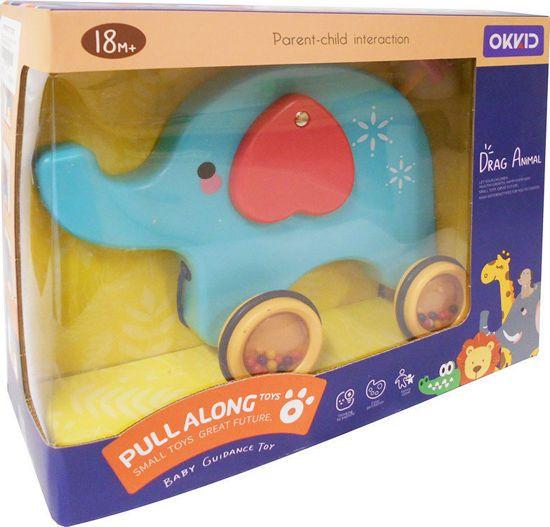 Picture of Zita Toys Ελεφαντάκι Συρόμενο Κουδουνίστρα 005.7040