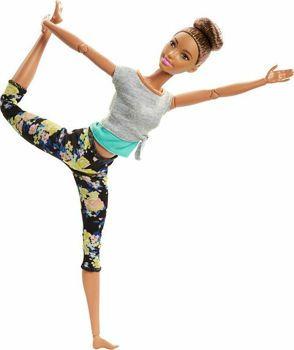 Picture of Barbie Αμέτρητες Κινήσεις - Μελαχρινή Με Κότσο Στα Μαλλία (FTG80 / FTG82)