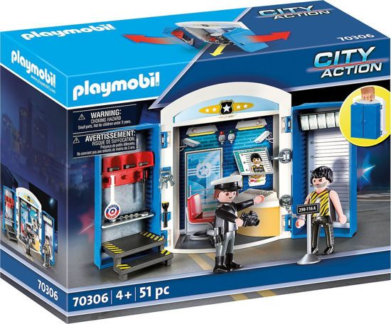 Picture of Playmobil City Action Play Box Αστυνομικό Τμήμα 70306
