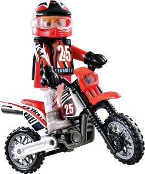 Picture of Playmobil Special Plus Οδηγός Μηχανής Motorcross 9357