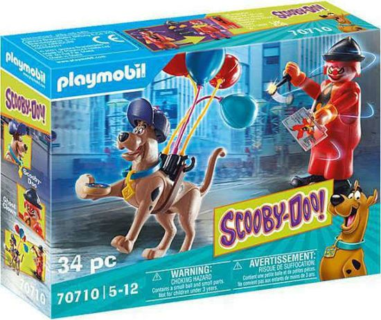 Picture of Playmobil Scooby Doo Περιπέτεια Με τον Ghost Clown 70710