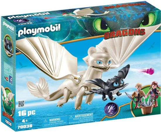 Picture of Playmobil Dragons Η Λευκή Οργή Κι Ένας Δρακούλης Με Τα Παιδιά 70038