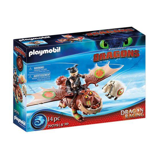 Picture of Playmobil Dragons Λέπιας Και Χοντροκέφαλος 70729