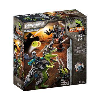 Picture of Playmobil Dino Rise T-Rex Η Μάχη Των Γιγάντων 70624