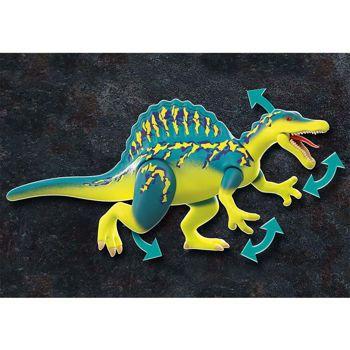 Picture of Playmobil Dino Rise Σπινόσαυρος Με Διπλή Πανοπλία 70625