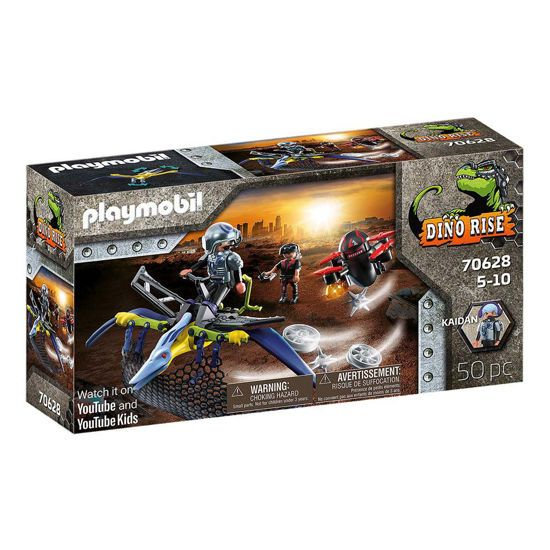 Picture of Playmobil Dino Rise Πτεροδάκτυλος Και Μαχητές Με Drone 70628