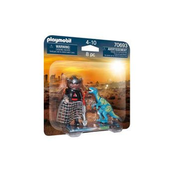 Picture of Playmobil Dino Rise DuoPack Βελοσιράπτορας Και Κυνηγός Δεινοσαύρων 70693