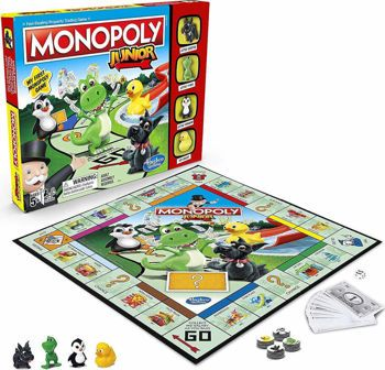 Picture of Hasbro Επιτραπέζιο Παιχνίδι Monopoly Junior (E6984)