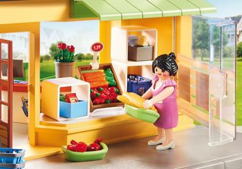 Picture of Playmobil City Life My pretty Play-Mini Market 70375